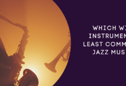 Which Wind Instrument Is Least Common in Jazz Music?